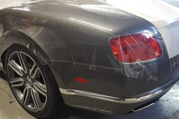 Premium Paint Protection on the new 2017 Continental GT Bentley.
