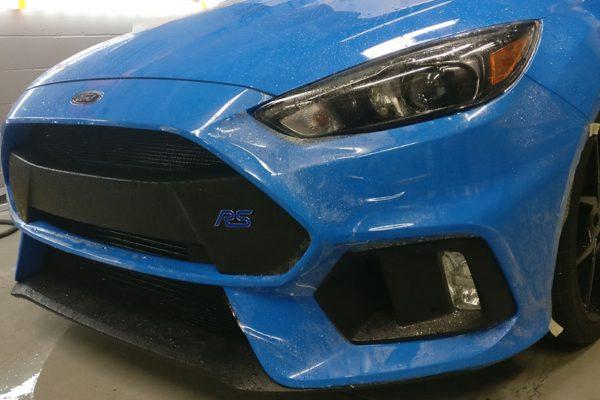 Premium Paint Protection on Focus RS. 2017 Chevrolet Corvette Paint Protection
