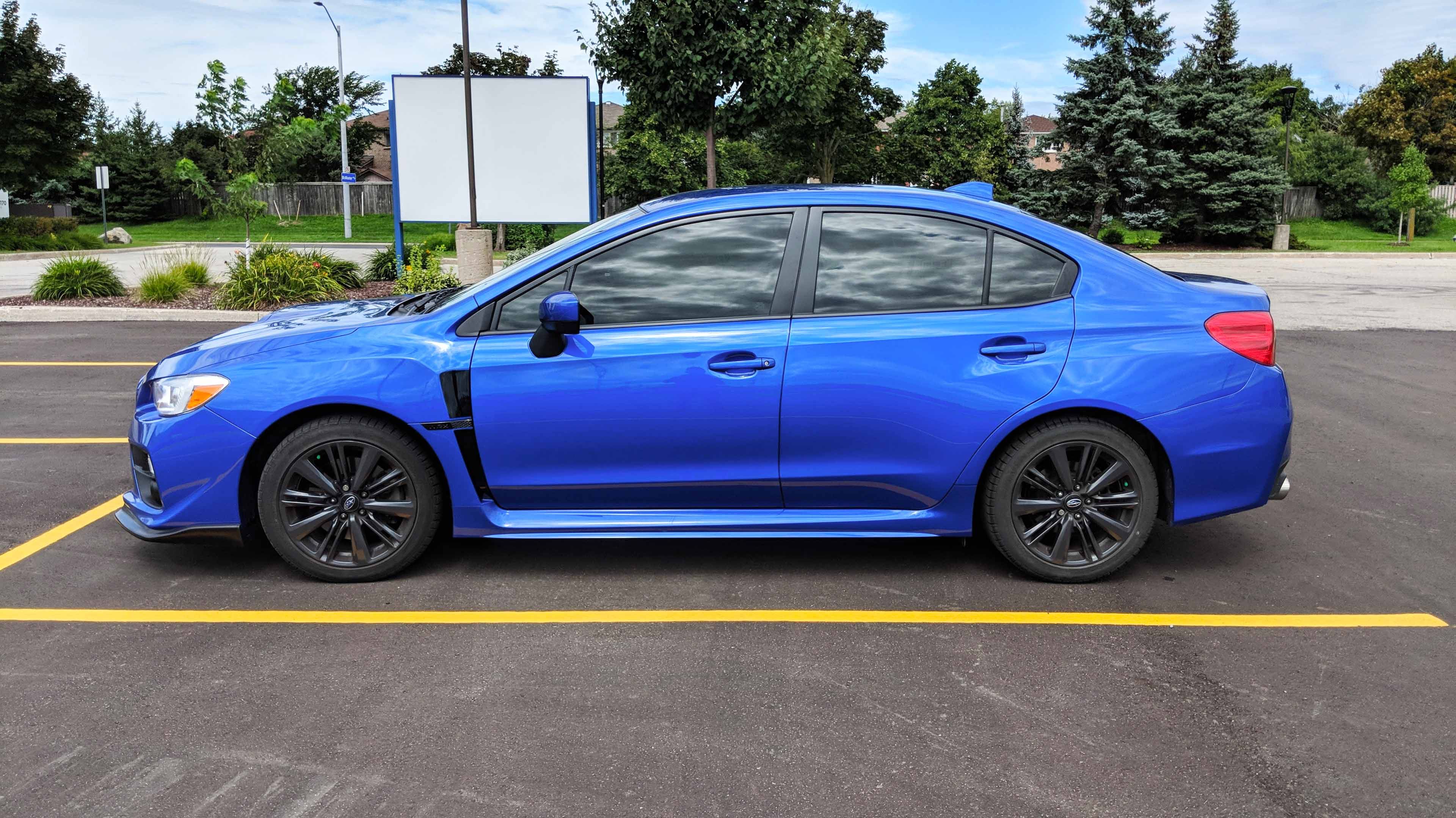 Subaru STi window tint 20%