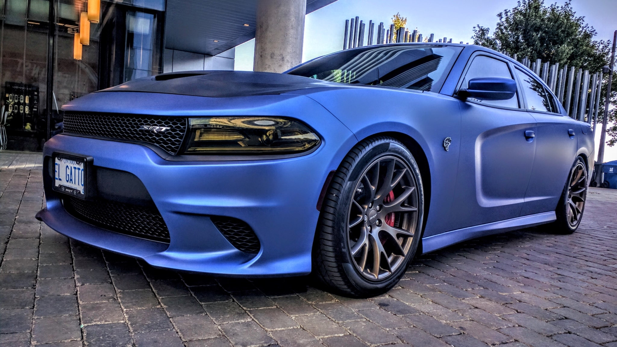 Dodge Charger Hellcat Avery Matt metallic brilliant blue